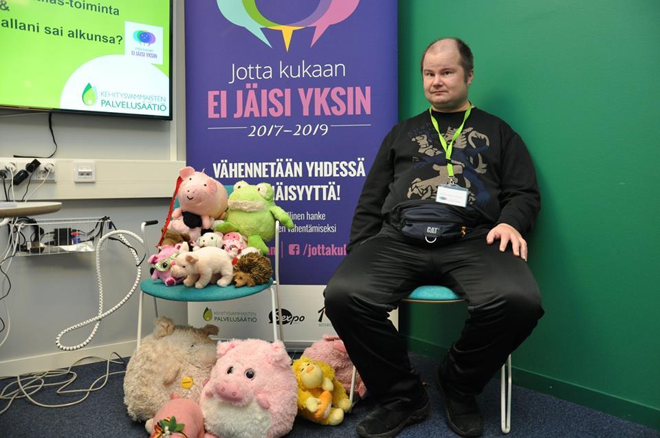 Ambassador of Friendship Petri Virolainen from Finland